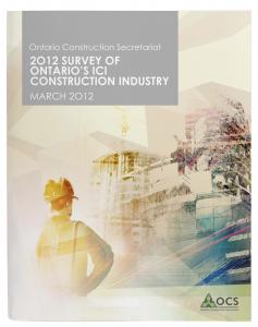 OCS_Survey-of-Ont-ICI-Constr-Industry_MARCH 2012_cvr